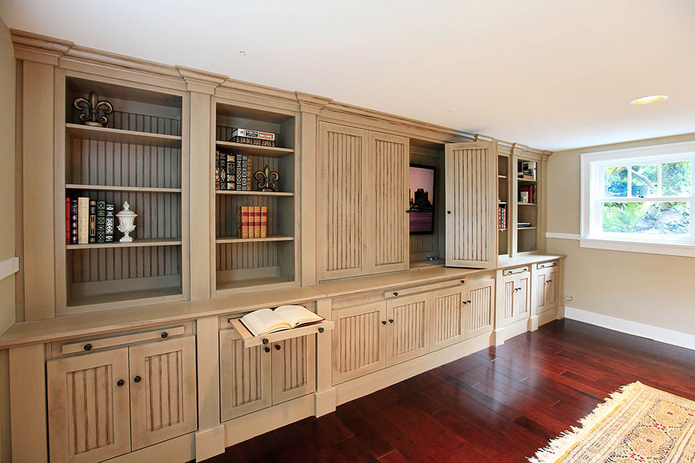 Custom Cabinets of Michigan Entertainment Center