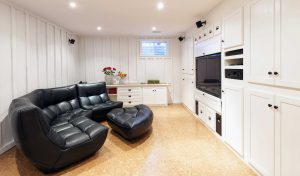 Custom Cabinets of Michigan Entertainment Centers and Build-ins