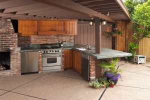 Custom Cabinets of Michigan Outdoor Kitchens